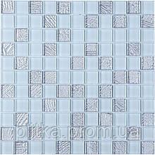 Мозаїка GM 8015 C2 Silver S5, White