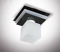 Люстра потолочная металлическая одноламповая