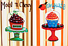"""Схема для вышивания бисером """"Сupcakes"""""""