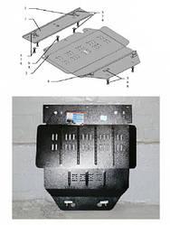 Защита двигателя и кпп  радиатора Citroen Berlingo I 1996-2003