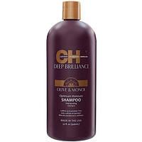 CHI Deep Brilliance Optimum Moisture Shampoo- Увлажняющий шампунь, 946 мл