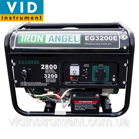 Генератор Iron Angel EG-3200E, фото 2