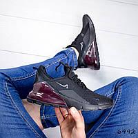 Кроссовки мужские под Nike черные 6992