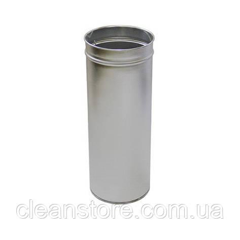 Корзина металлическая цилиндрическая 24л, фото 2