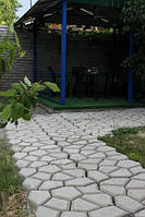 Форма Садовая дорожка 60х60х6см, устройте красоту у себя на даче