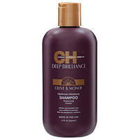 CHI Deep Brilliance Optimum Moisture Shampoo- Увлажняющий шампунь, 355 мл