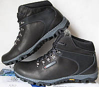 Мужские зимние кожаные ботинки большого размера Соlumbia, фото 1