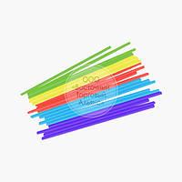 Палички для кейк-попсов - Асорті - 15 см, 50 шт