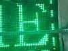 Бегущая строка влагостойкая с WIFI 200х40 см зеленая, фото 4