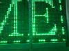 Бегущая строка влагостойкая с WIFI 200х40 см зеленая, фото 5