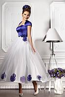 """Вечернее платье в стиле ретро """"Цветочный блюз"""""""