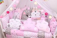 Бортики - игрушки для детской кроватки