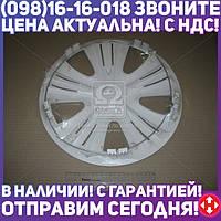 ⭐⭐⭐⭐⭐ Колпак колесный R13 LUX белый 1шт. (Дорожная Карта)  DK-R13LW