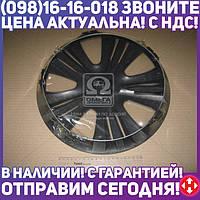 ⭐⭐⭐⭐⭐ Колпак колесный R13 LUX черный 1шт. (Дорожная Карта)  DK-R13LB