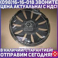 ⭐⭐⭐⭐⭐ Колпак колесный R14 REX черный 1шт. (Дорожная Карта)  DK-R14RB