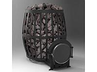 Печь-каменка для бани Бочка 33 м³, фото 1