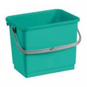Ведро пластик зеленое  12л