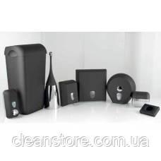 Держатель туалетной бумаги V складка черный, фото 2