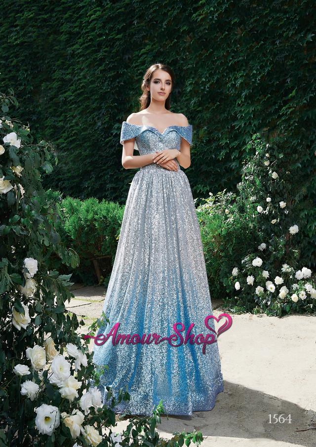 блестящее вечернее выпускное платье