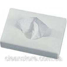 Держатель гигиенических пакетов пластик белый