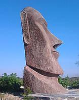 """Садово-парковая скульптура """"Истукан с острова Пасхи"""