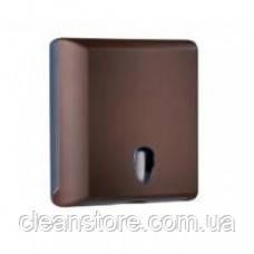 Держатель полотенец бумажных пластик коричневый