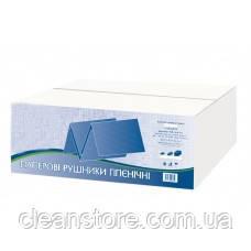 Паперові рушники целюлоза біла 3000 шт/ящ PRV150