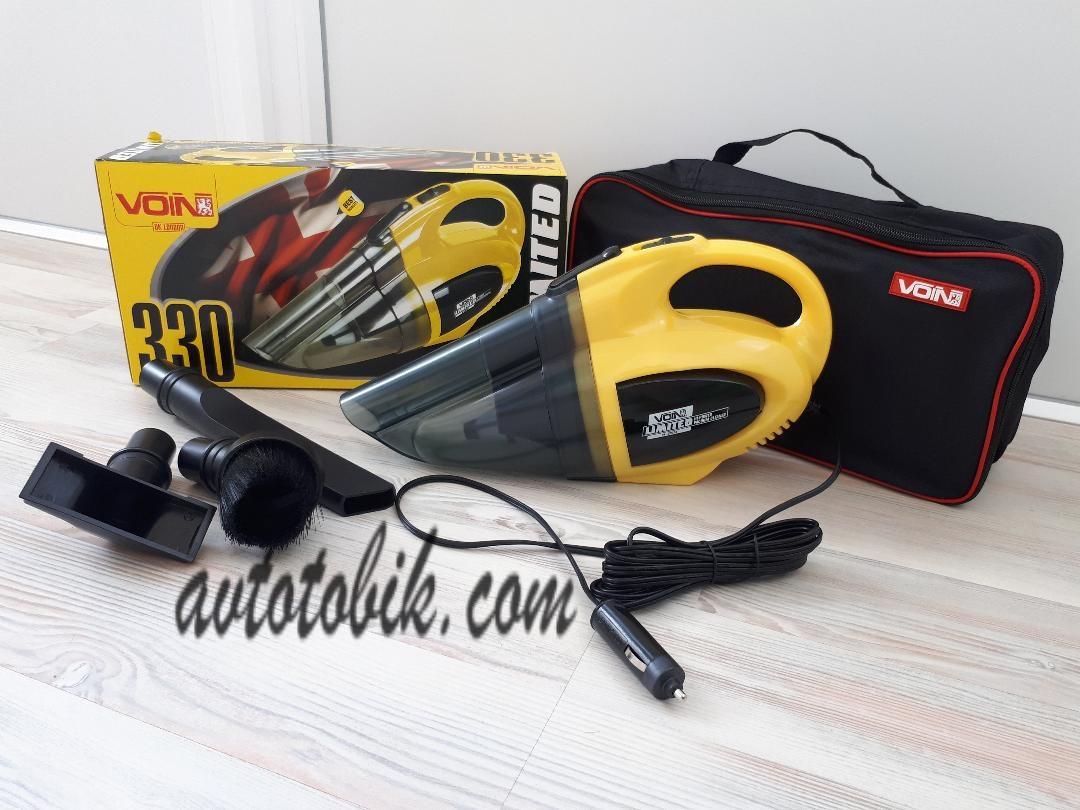 Пылесос VOIN VL-330 для влажной и сухой уборки 12V/138W/сумка