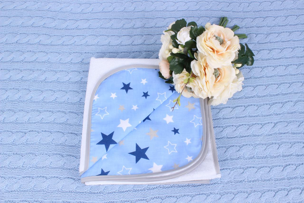 Непромокаемая пеленка Синие звёзды