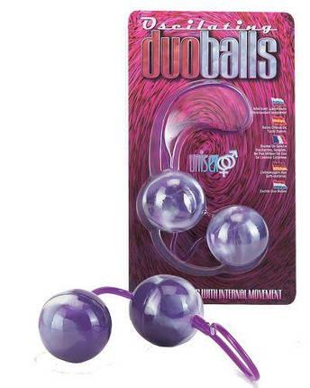 Вагінальні кульки Marbelized Duo Balls, 3,2 см, фото 2