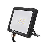 Светодиодный прожектор 10w Standart 800Lm 6400K IP65 SMD (ЛЕД прожектор уличный), фото 1