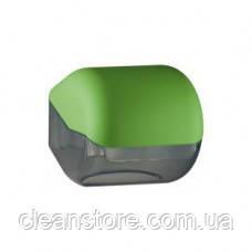 Держатель туалетной бумаги пластик зеленый, фото 2