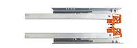 Направляющие полного выдвижения скрытого монтажа LinkenSystem  (35 кг) L=250 (дсп 16 мм) с доводом + крепление