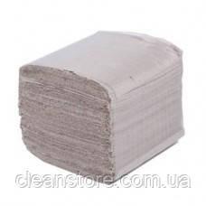 Туалетний папір листовий сіра (200шт.), фото 2