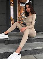 "Женский спортивный костюм "" Замш "" Yulia, фото 1"