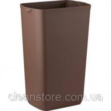Корзина пластмассовая 23л коричневая, фото 2
