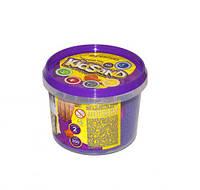 """Кинетический песок """"KidSand"""", фиолетовый, 350 г KS-01-03 sco"""