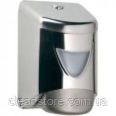 Дозатор жидкого мыла картриджный хром, фото 2