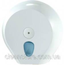 Держатель туалетной бумаги Джамбо пластик белый, фото 2