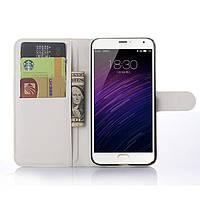 Чехол-книжка Litchie Wallet для Meizu MX5 Белый