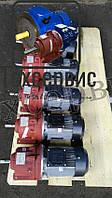 Мотор - редуктор 3МП 31,5 -71 с электродвигателем 1.1 кВт 3000 об/мин, фото 1
