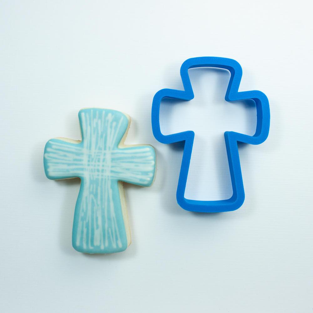 Каттер хрестик, вирубка хрест, великодній різак хрест, хрестик для печива