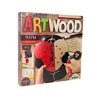 """Детский набор для выпиливания """"ARTWOOD: Часы своими руками""""  sco"""