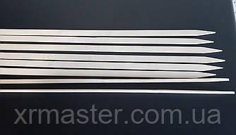 Шпажки бамбуковые плоские 40см ширина 1см