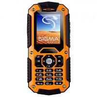 Мобильный телефон Sigma mobile X-treme IT67 (Black/Orange)