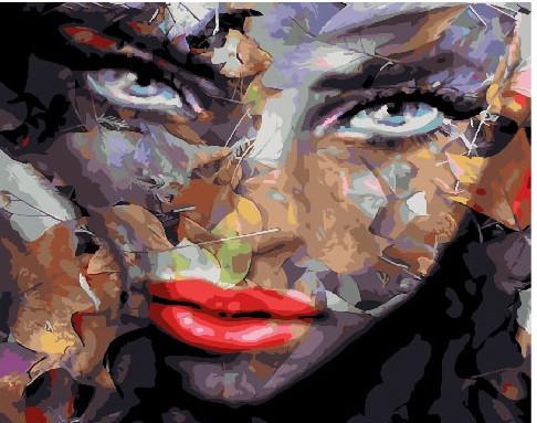 Картина по номерам Сумрачный лик, 40x50 см., Brushme