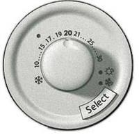 Лицевая панель для термостата с датчиком для теплого пола Титан Legrand Celiane (68549)