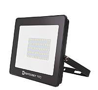 Світлодіодний прожектор 50w Premium 4500Lm 6400K IP65 SMD (ЛІД прожектор вуличний), фото 1