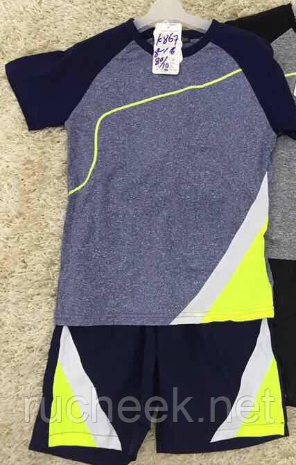 d40c8c4cded4 Купить Летний спортивный костюм на мальчика, футболка и шорты р -ры ...