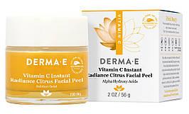 Цитрусовый пилинг для лица с витамином C, Derma E, 56 грамм